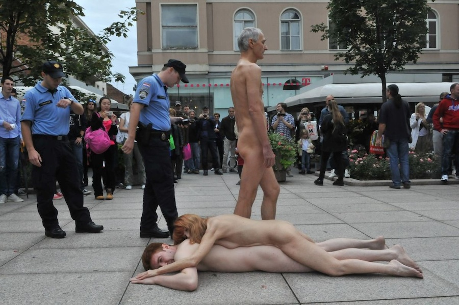 How san francisco nude street festivals the view want